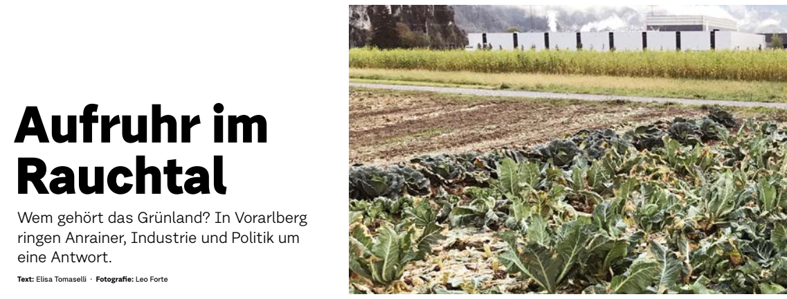 Pressebericht – DATUM Magazin