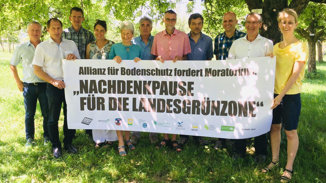 Bodenschutz-Organisationen fordern Moratorium für Landesgrünzone